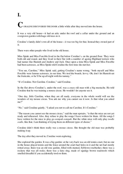 Book report for coraline jpg 638x903