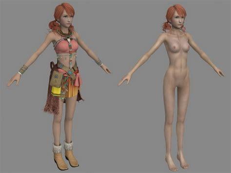 Final fantasy xiii topless vanille undertow jpg 640x480